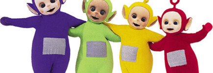 ¿Vendes como los Teletubbies?